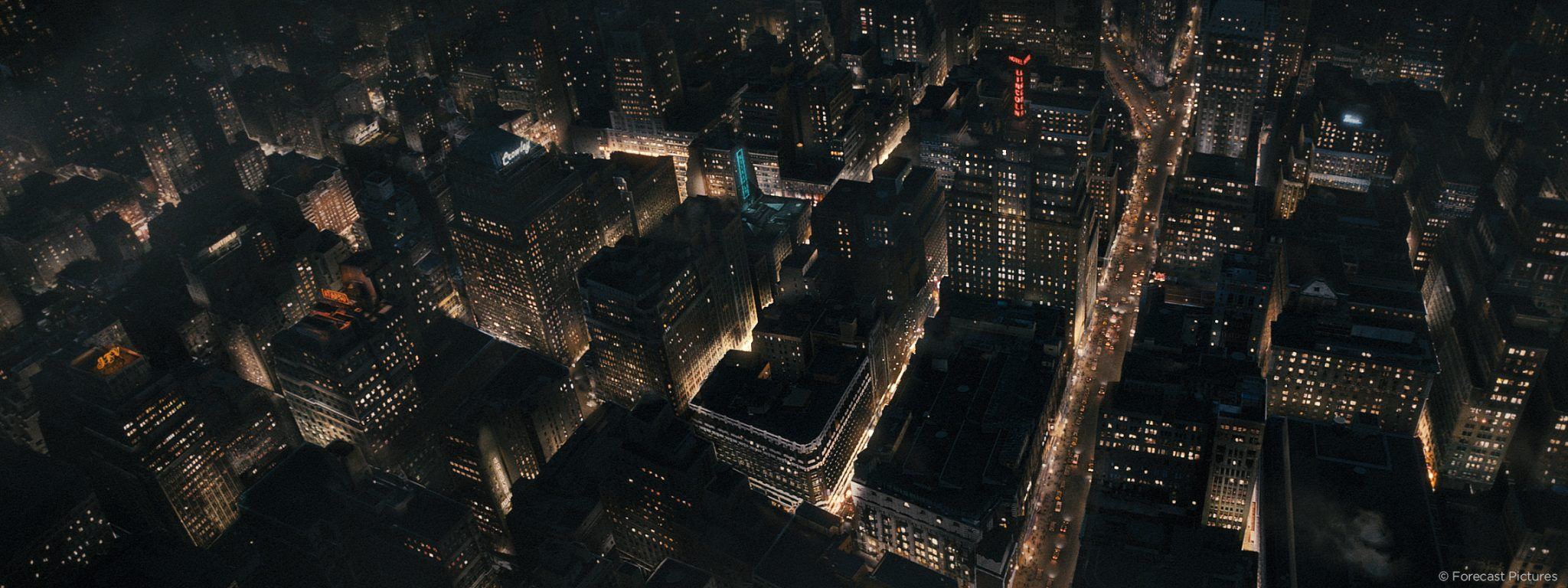 race-city-aerial-view
