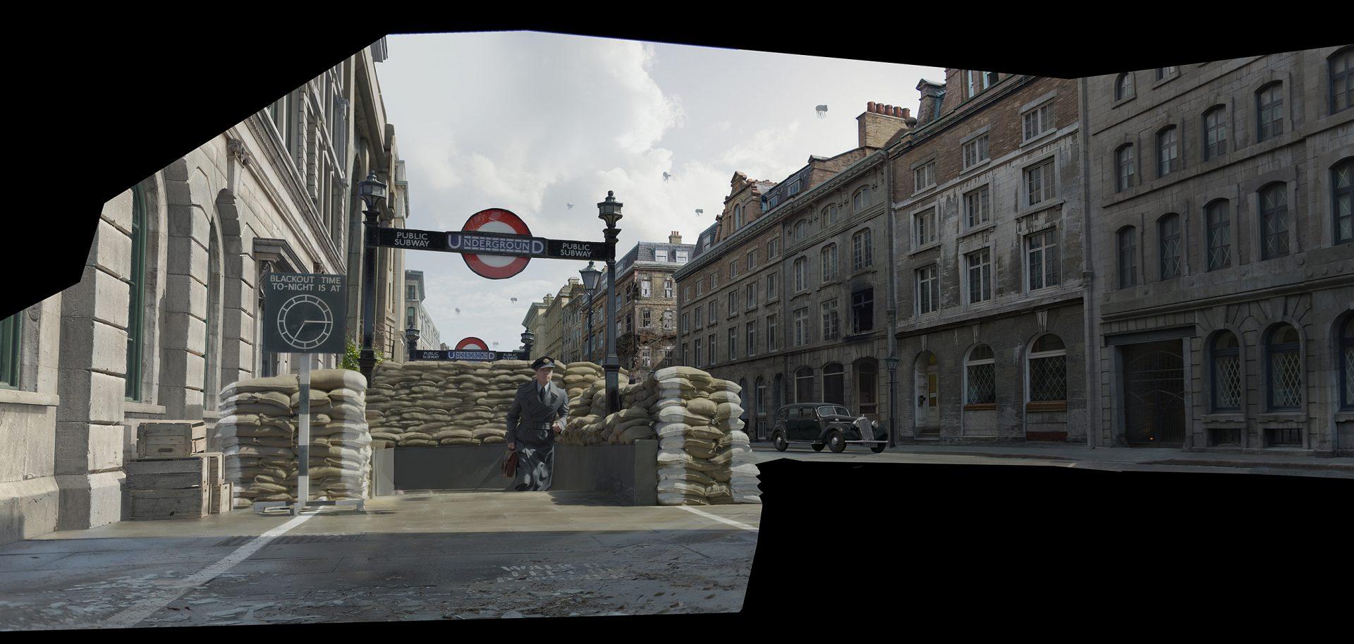 allied-london-war-concept