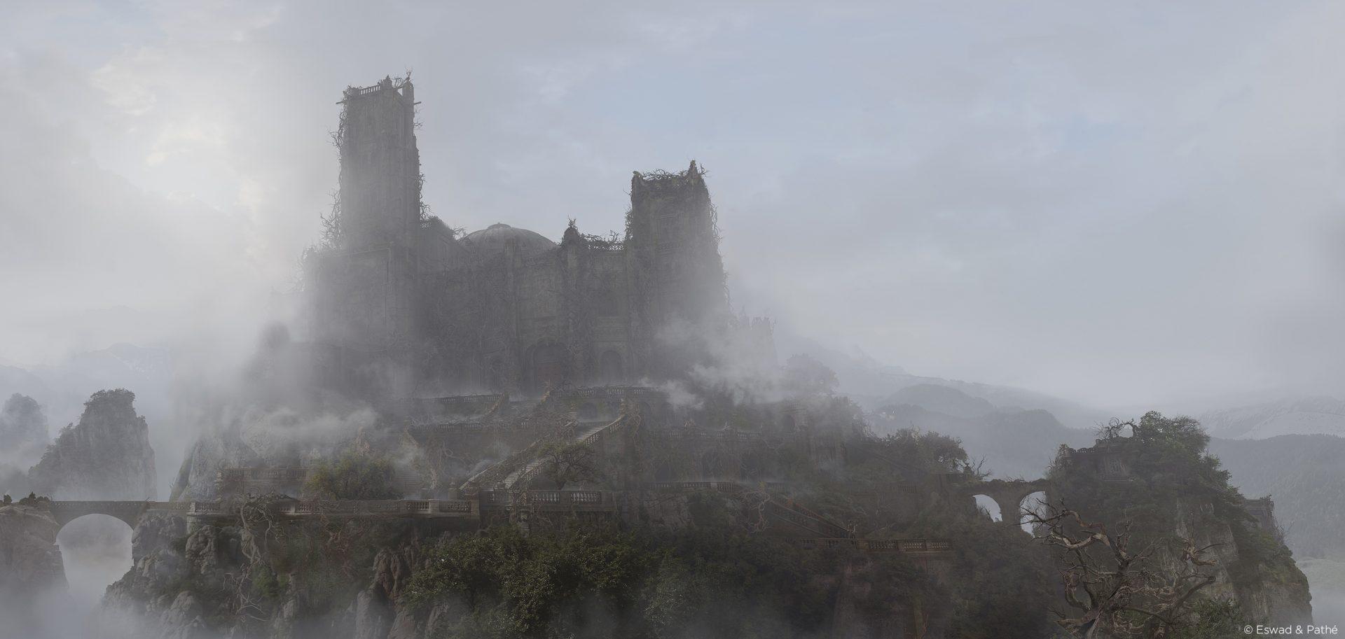 belle-et-la-bette-castle-matte-paiting