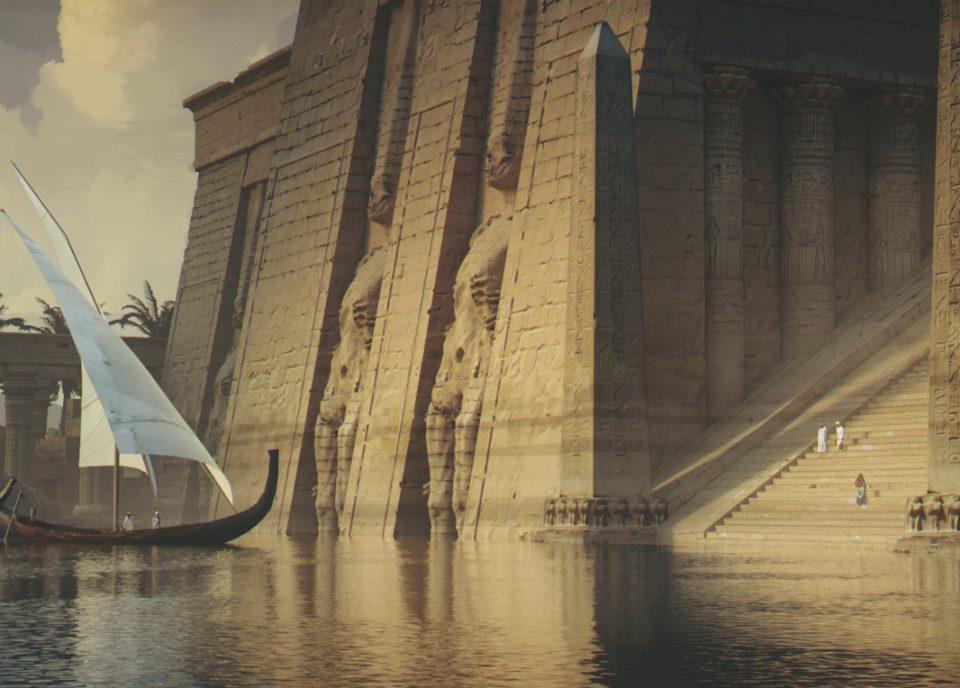 concept art ancien egypt