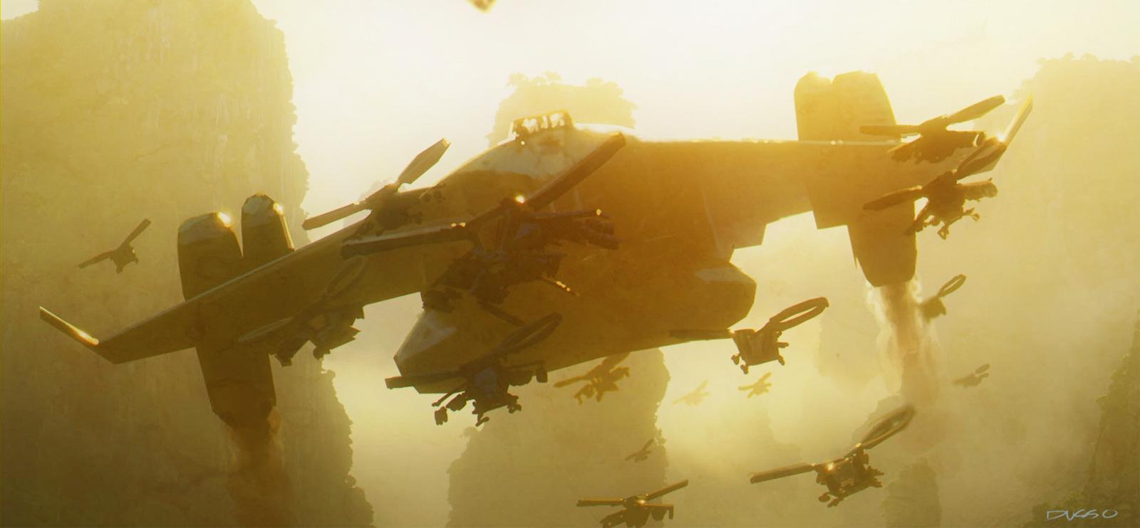 concept-art-dusseault-multiple-spaceships