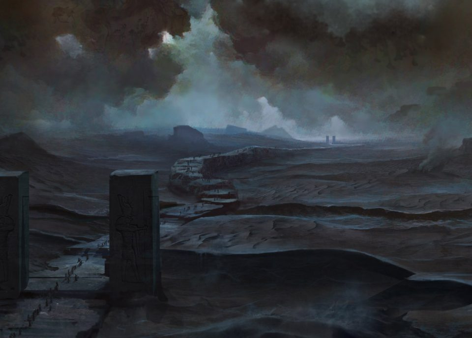 concept art land of the dead