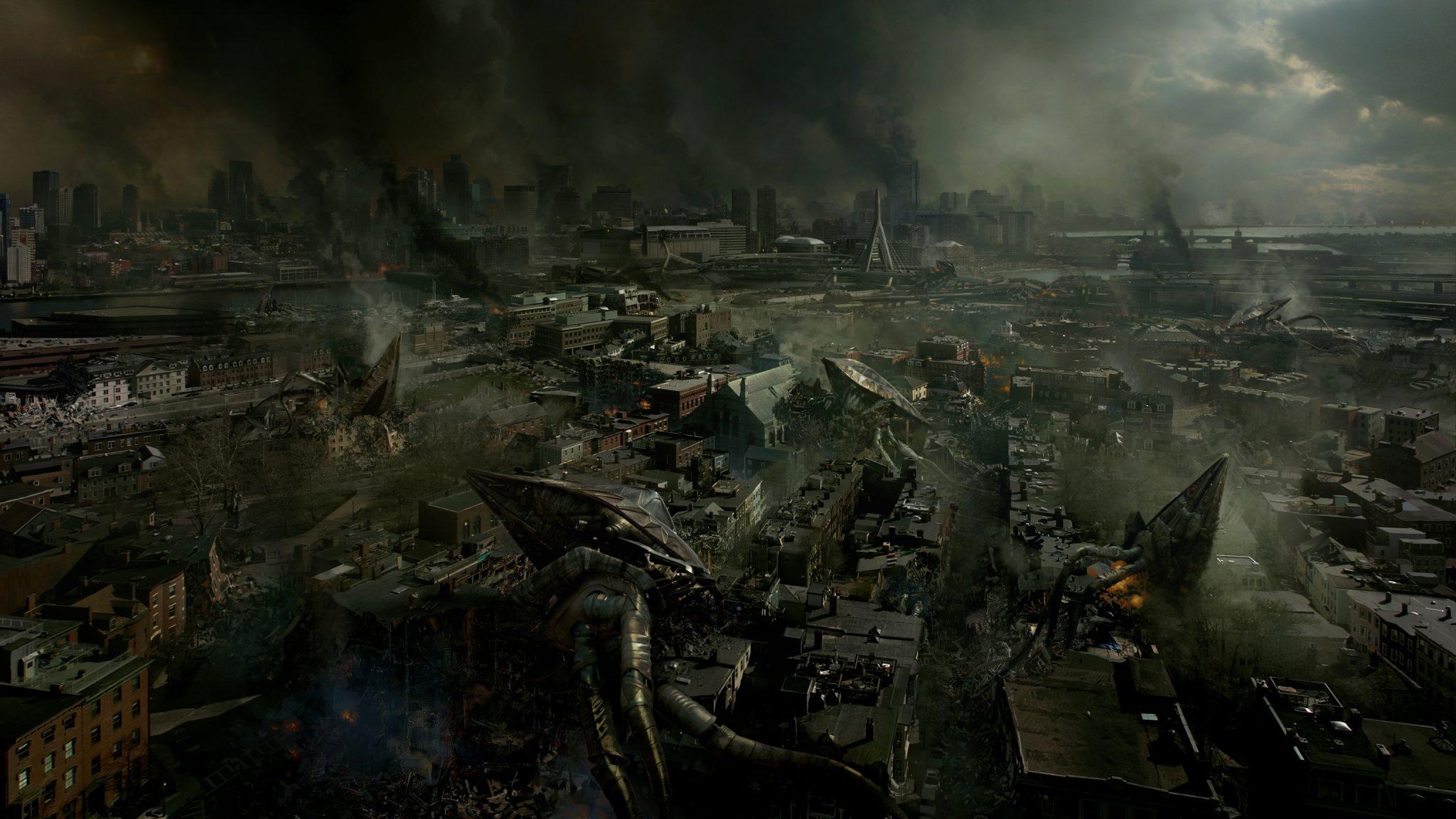 digital-painting-dusso-alien-invasion-city