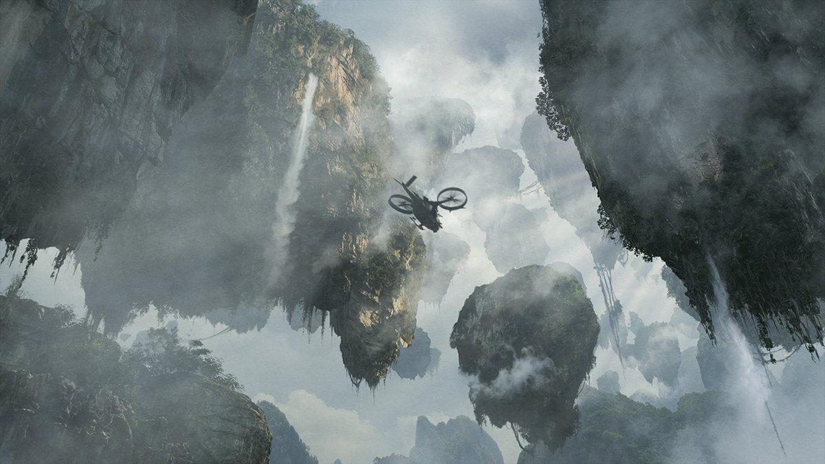 digital-painting-dusso-spaceship-mountain-air